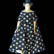 1820s – 30s German Paper Mache Girl, so-called Milliner's Model