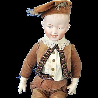 Heubach Character boy doll