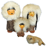 Eskimo Family of Dolls, Souvenir
