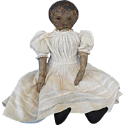 Primitive Cloth Doll, Early Presbyterian Rag