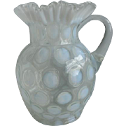 Jefferson Opalescent Coinspot Pitcher