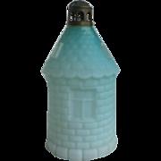 Victorian Satin Glass Fairy Lamp Lighthouse