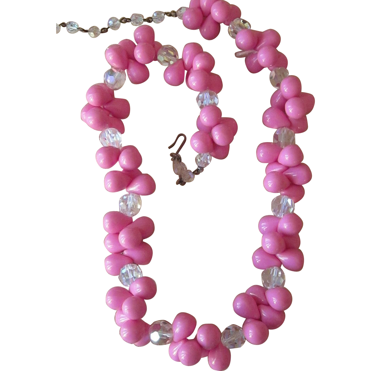 Pink Power! Vintage necklace