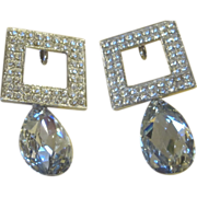 Jay Feinberg- Vintage Runway Statement Earrings