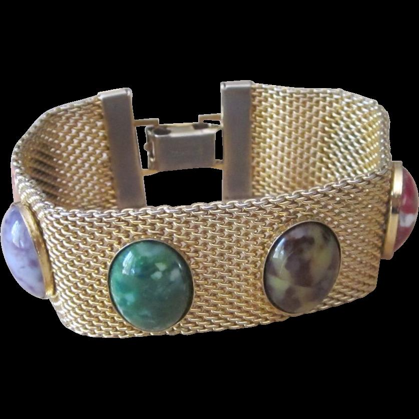 Sara Coventry- vintage signed bracelet