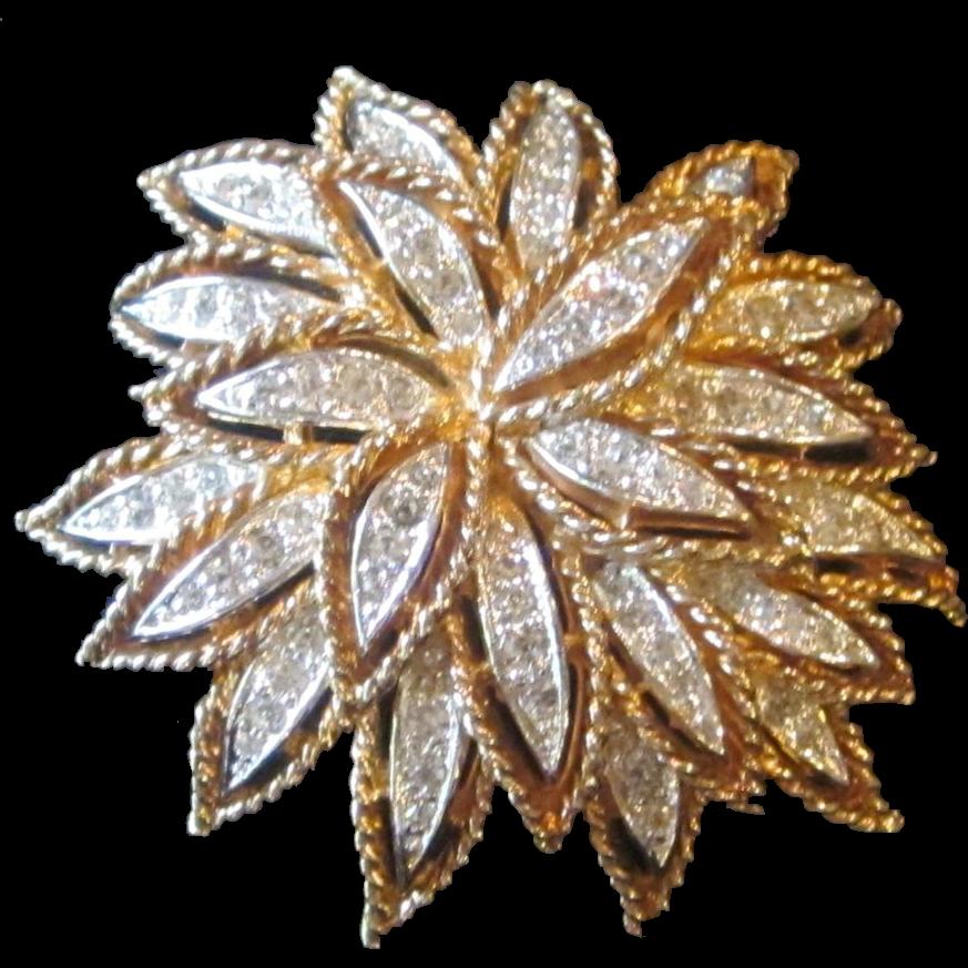 Panetta- signed vintage brooch