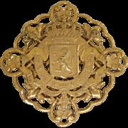 MIRIAM HASKELL - nice vintage brooch