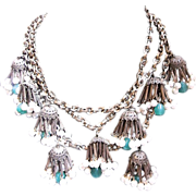 Incredible Runway Vintage Necklace