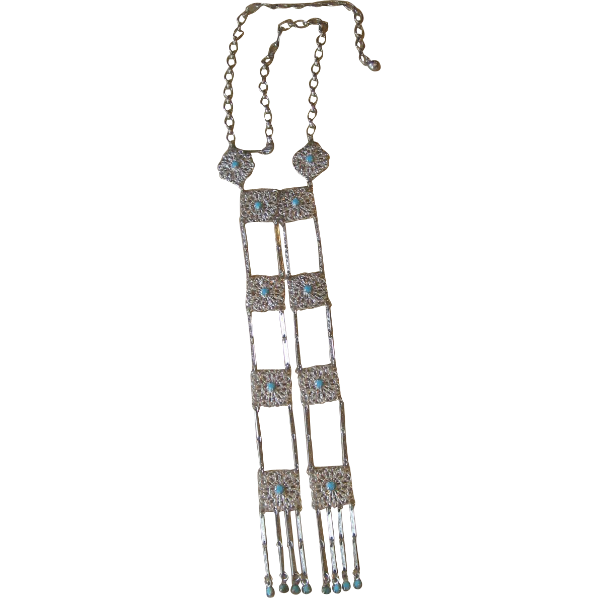 CELEBRITY-Massive Runway Necklace