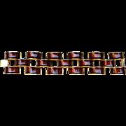 JAY FEINBERG -signed vintage runway bracelet