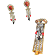 HOBE- Spectacular Vintage Bracelet and Earrings