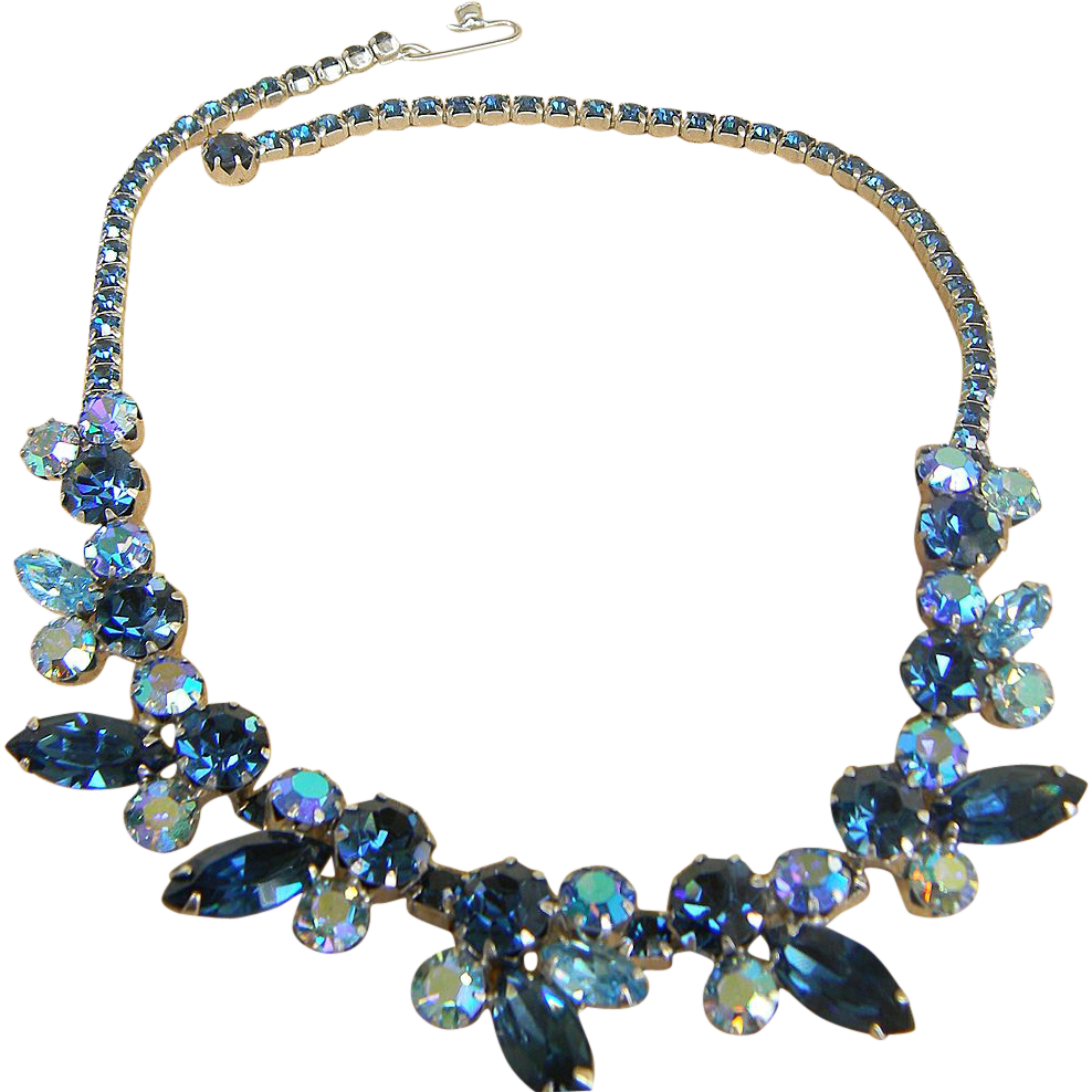 WEISS- spectacular vintage necklace