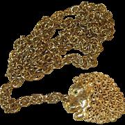 Jeanne- figural belt or necklace