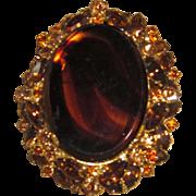 Juliana - Large Layered Brooch