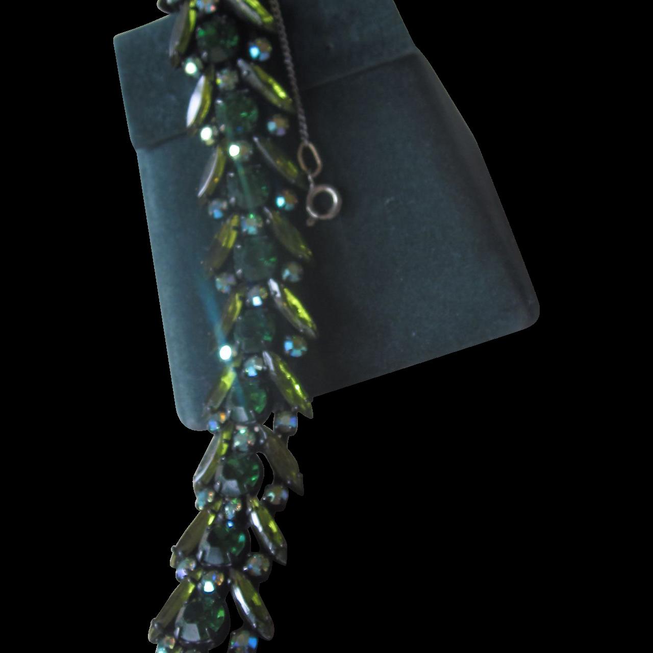 Regency- Stunning signed vintage bracelet