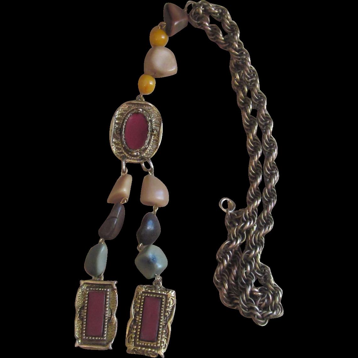 Selro Vintage Tassel Necklace