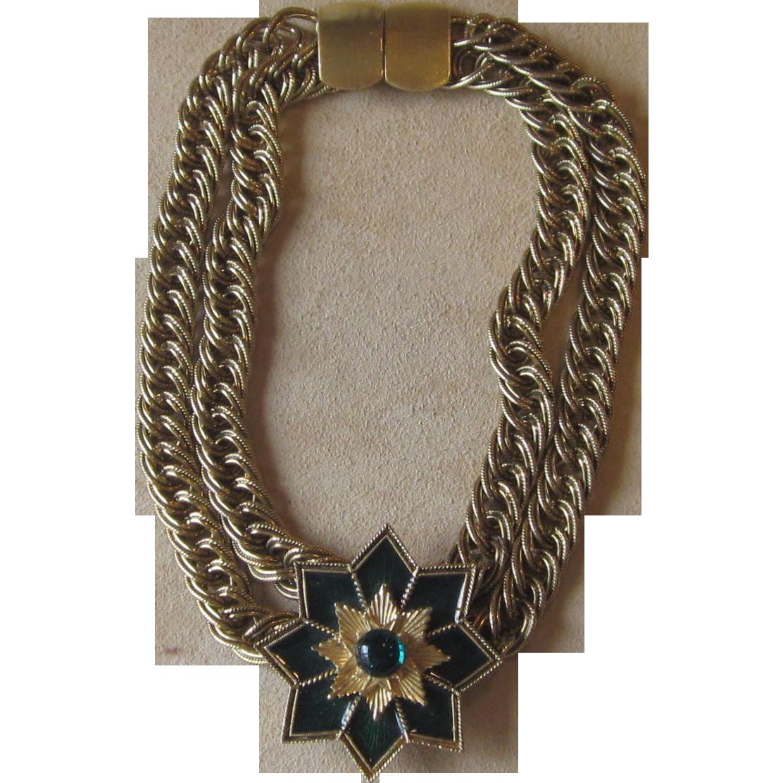 Jay Feinberg Vintage Runway Necklace