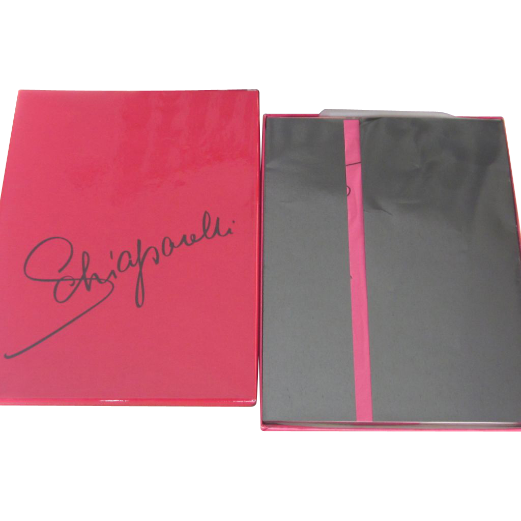 Schiaparelli-  Vintage 3 pair  Stockings in Box - Mint with all Papers