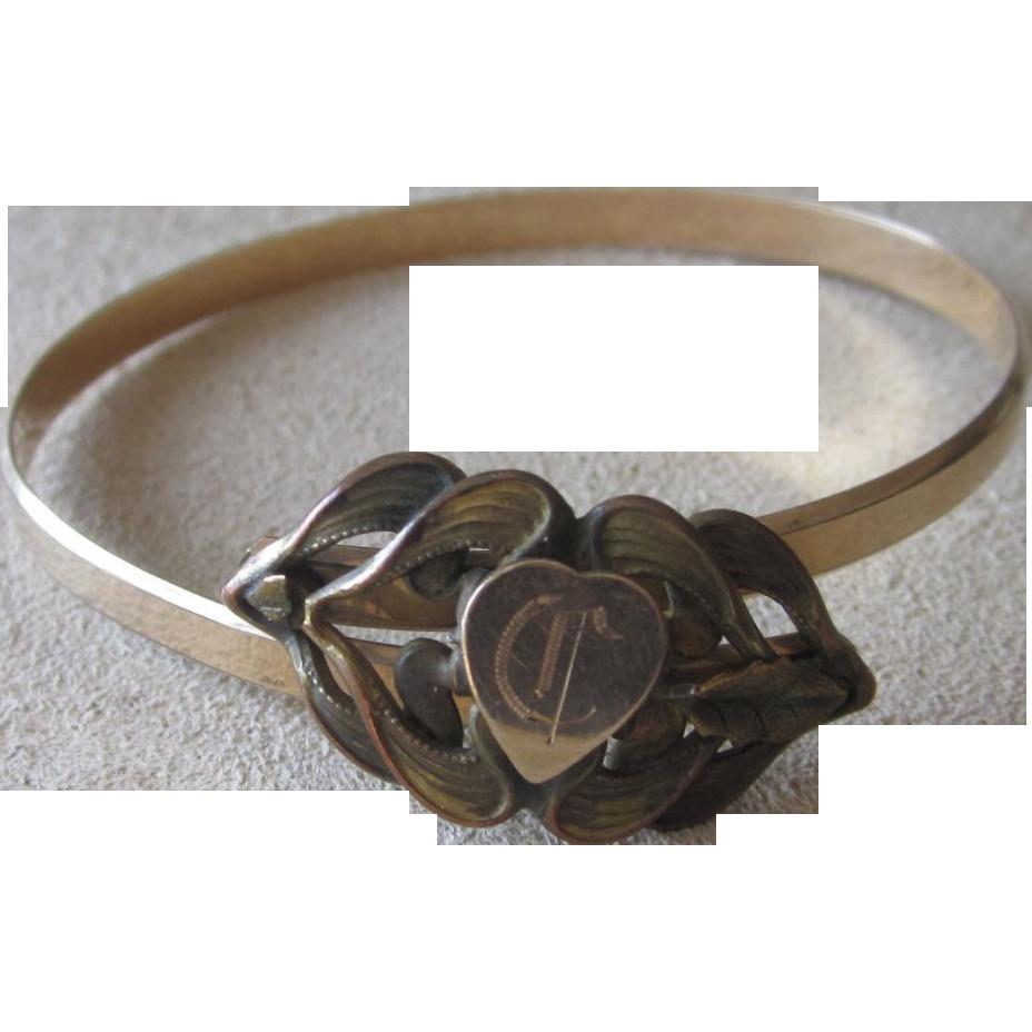 Signed Victorian Brides Bracelet