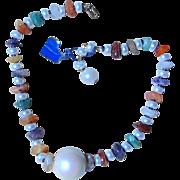 Hattie Carnegie- Vintage Necklace with original tag