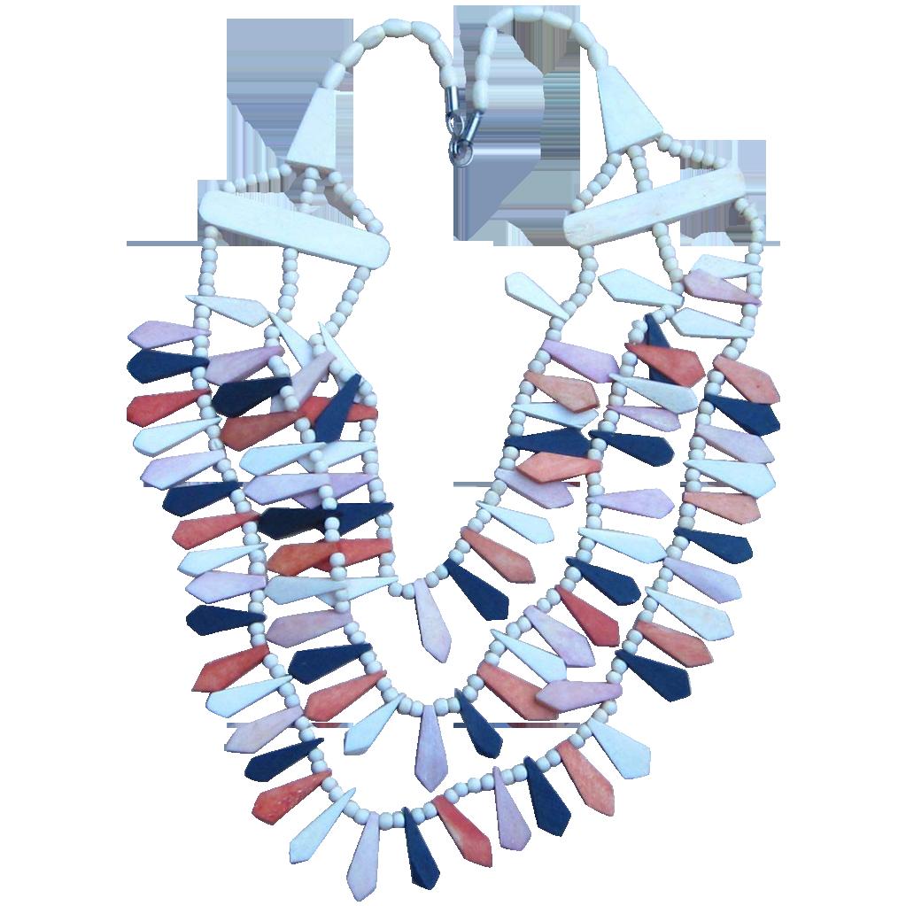 Unique Tribal Vintage Necklace
