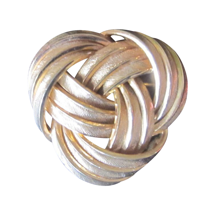Grosse- Dated 1960 Elegant Layered Brooch