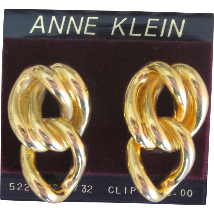 Anne Klein Vintage Earrings