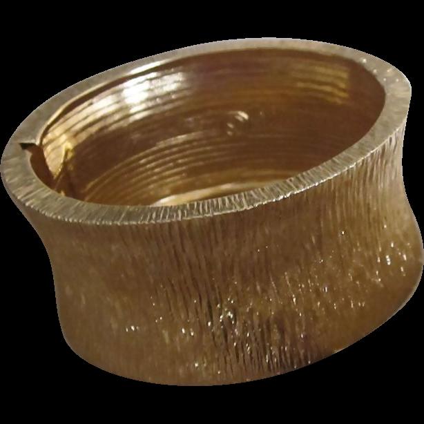 St. John Chunky Wide Vintage Old Stock Bracelet