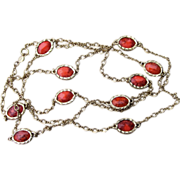 Accessocraft- Signed 54 Inch Vintage Sautoir Necklace