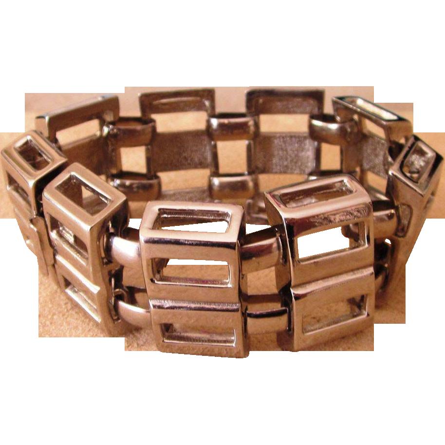 Lucian Piccard Designer Signed Vintage Moderne Bracelet