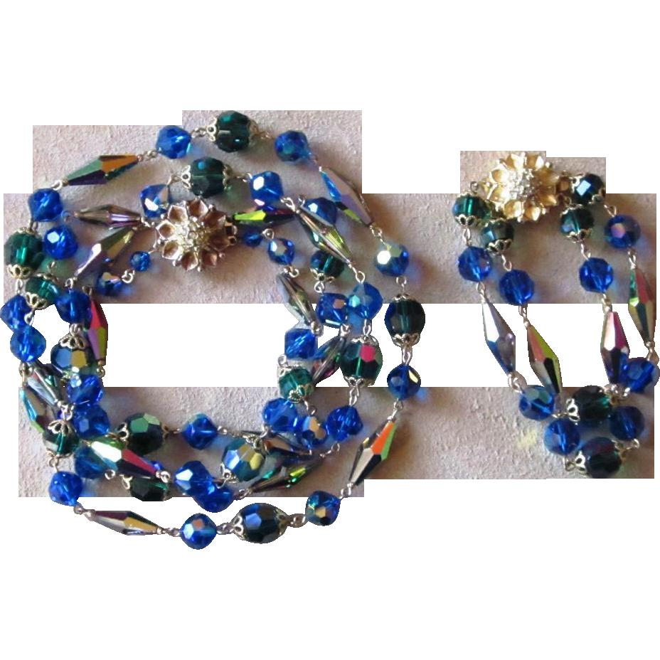 Vogue Jewelers Vintage Demi Parure Set Stunning