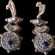 Victorian Etruscan Wire Earrings