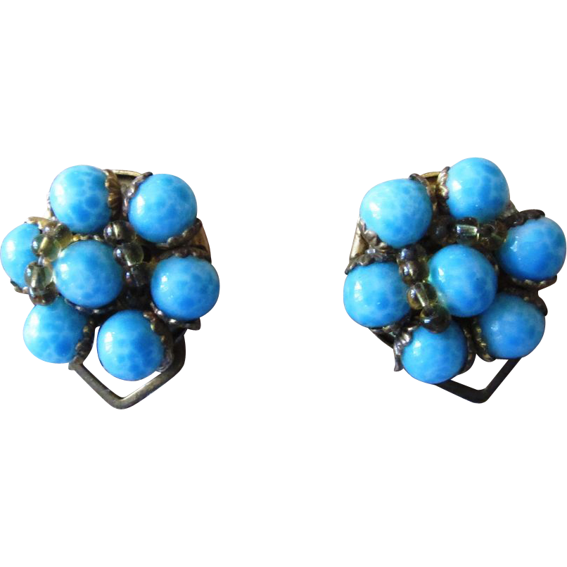 Italian Vintage Earrings Super