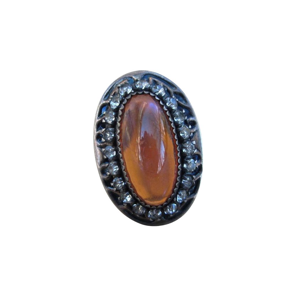 Dragon's Breath Vintage Sterling Ring