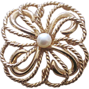 Napier Sterling Vintage Older Brooch
