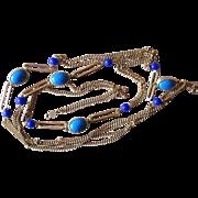 Accessorcraft 60 Inch Signed Vintage Sautoir Necklace