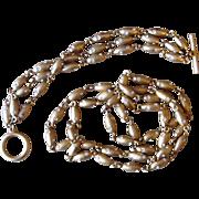 Swarovski Signed Swan Tag Vintage Couture Necklace and Bracelet
