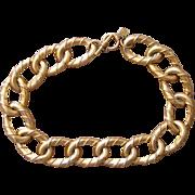 Anne Klein Runway 1980's Chunky Signed Designer Vintage Necklace