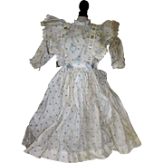 "Vintage Dress for 18"" tall Doll"