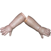 """4"""" long Super chunky Antique hands for Chinas Parians Leather bodied dolls."""