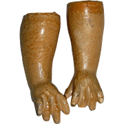 Straight Wrist Arms German Composition Body Parts