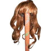 "7"" Auburn Human Hair wig France"