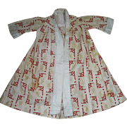 Antique Robe For Bisque Doll