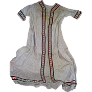Antique Child's Robe for Bisque Baby