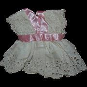 Vintage Eyelet Dress for All bisque Dolls Googly Dolls