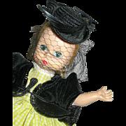 """8"""" Madame Alexander 1957 Aunt Agatha #434 BKW Pristine Condition"""