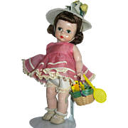 1953 Madame Alexander Easter doll SLNW Adorable!