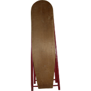 Antique wooden Iron Board (folds Up)