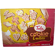 Tala Cookie Cutters; 12 shapes England