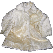 Small Child's Mohair Coat